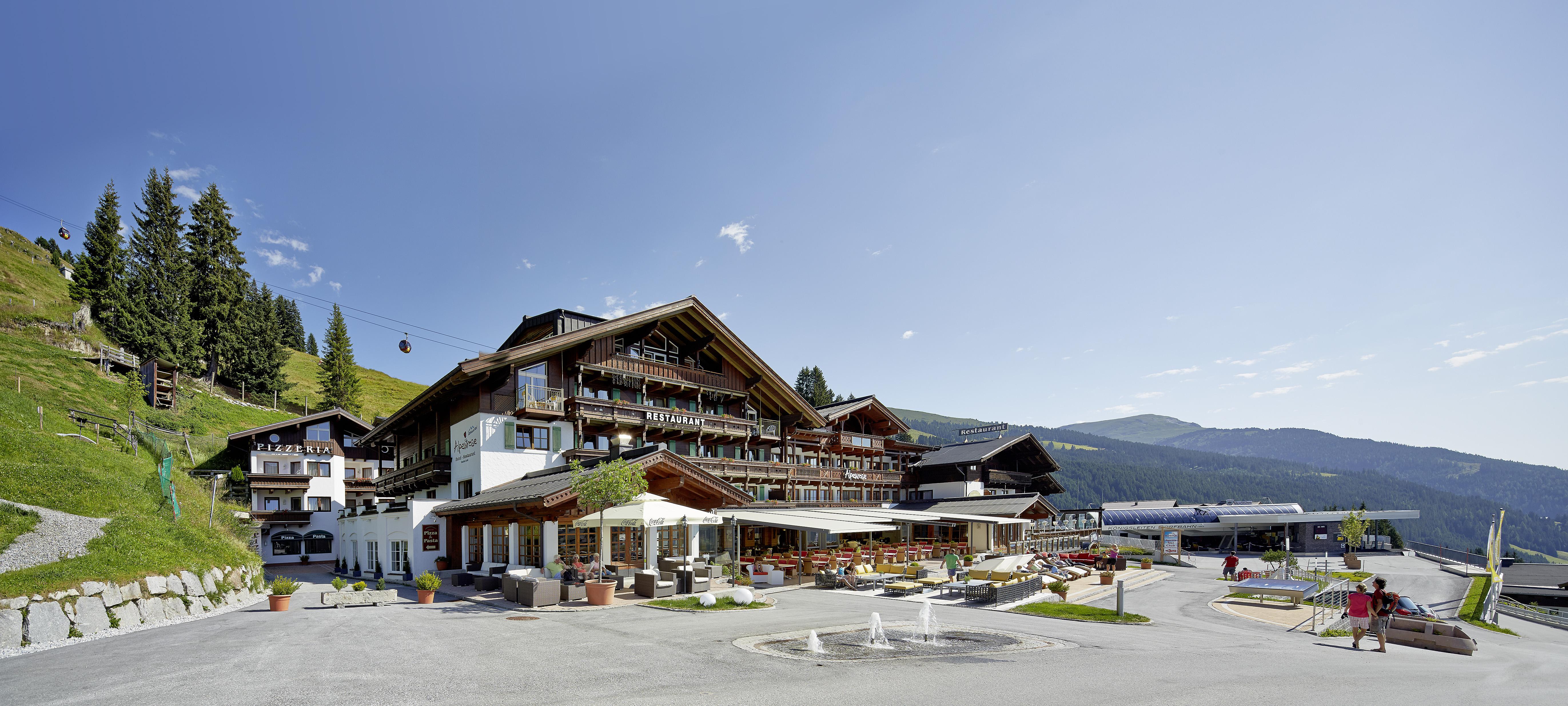 Alpenwelt Resort im Sommer